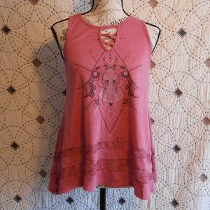 3/$10 GUC Wound Up Pink Elephant Swing Tank M